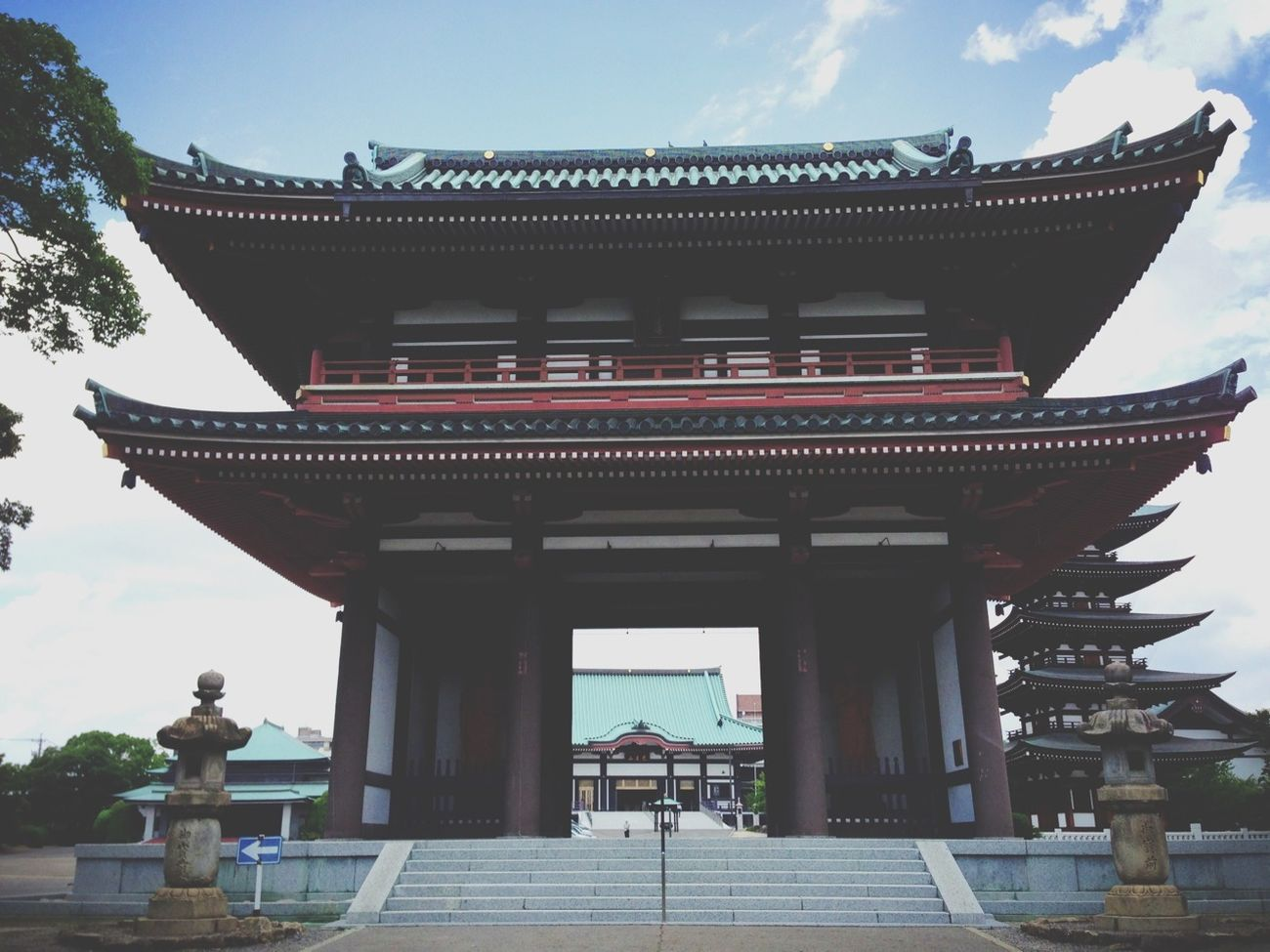 """Temple Introducing Culture Of Japan Which Must Be Left To The Future…… """"未来に残す日本の文化"""""""