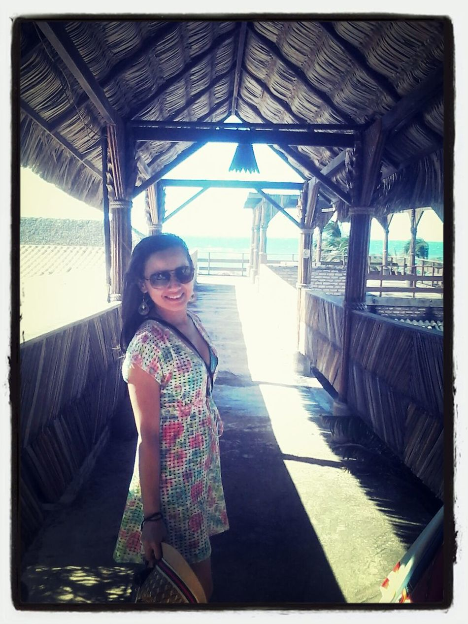 Praia do Mundaú, neverland cearense..rsrs Beach Life Portrait Sun_collection Goodmorning