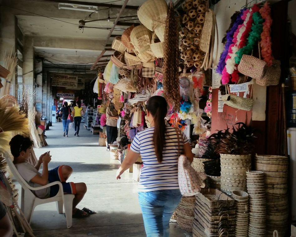 Adult Women People Leisure Activity Lifestyles Indoors  Men Adults Only Real People Day City EyeEmNewHere Eyeemvision The Week On Eyem Arts Culture And Entertainment Livelihood Art And Craft Vendors On Wheels Iloilo City, Philippines Market Business Store Break The Mold