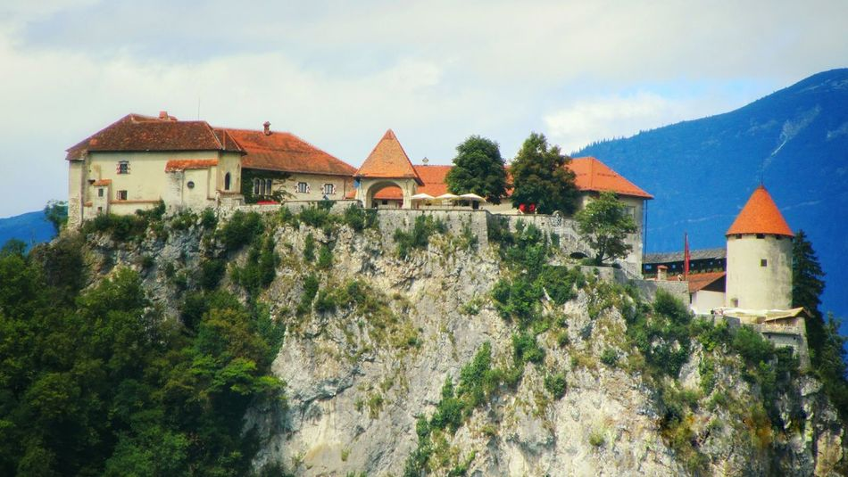 Slovenia Slovenian Alps Slovenia Scapes Bled Castle Bled, Slovenia Bled Lake Slovenia Bled Island Arhitecture Landscape Mountain Mountains And Sky House Outdoors Tourism Tourist Attraction  Travel Destinations Travel Photography
