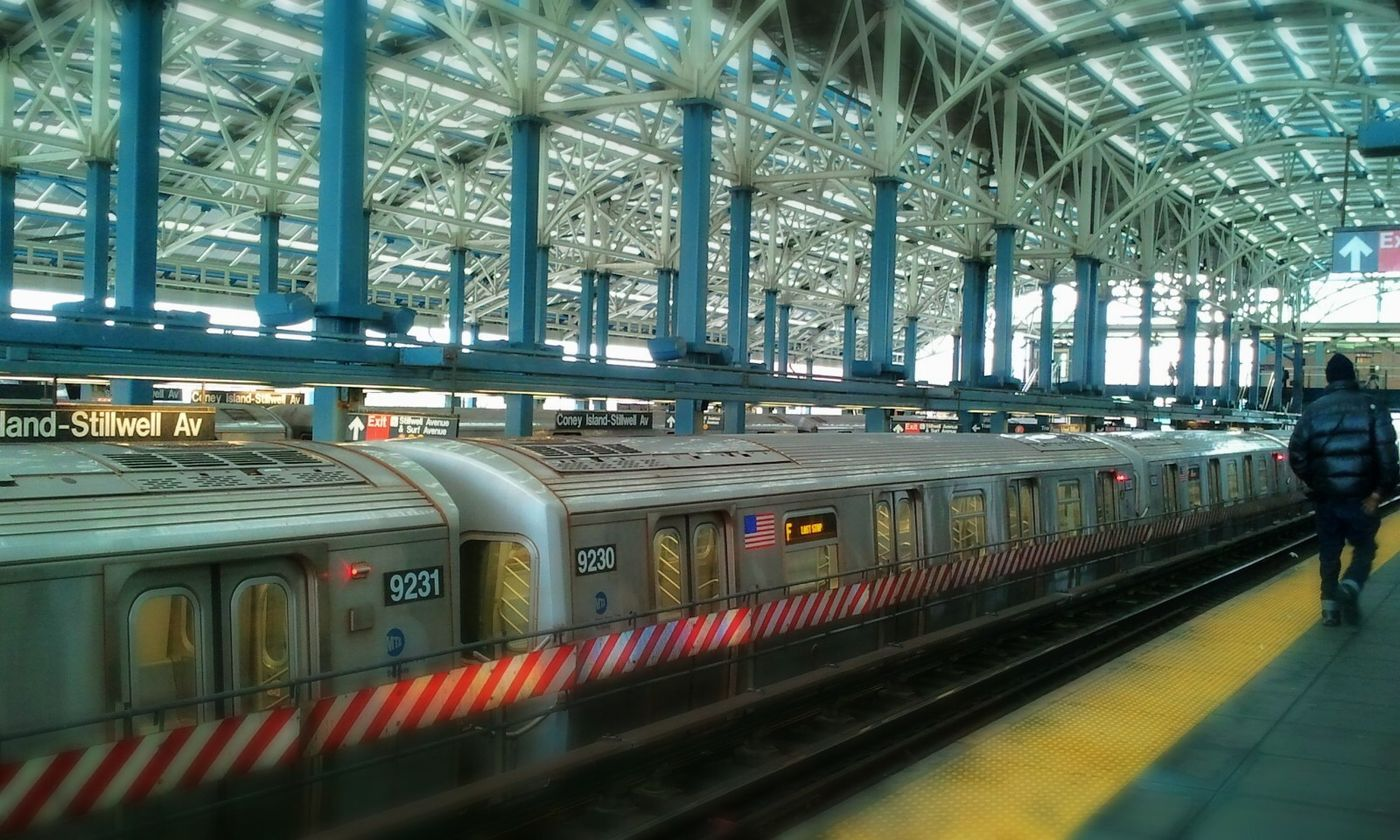Capture The MomentBrooklynyTrainsnSolar PowereConey Islandnd GeeNiusPix NYC Train Platforms