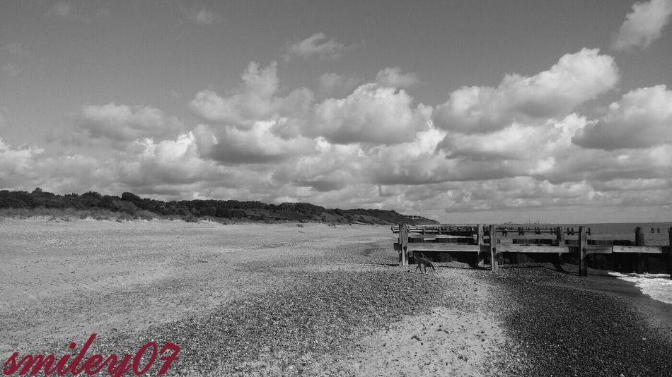 Blackandwhite Photography Sun_collection, Sky_collection, Cloudporn, Skyporn Beach Beachphotography Sun&Clouds