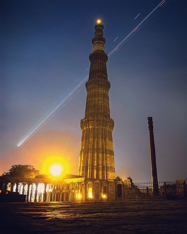 Check This Out Qutabminar Lighttrails Nightphotography Longexposure Longexposurephotography Delhi DelhiGram Delhidiaries Delhimonument Indianhistory Indianheritage Mustvisit