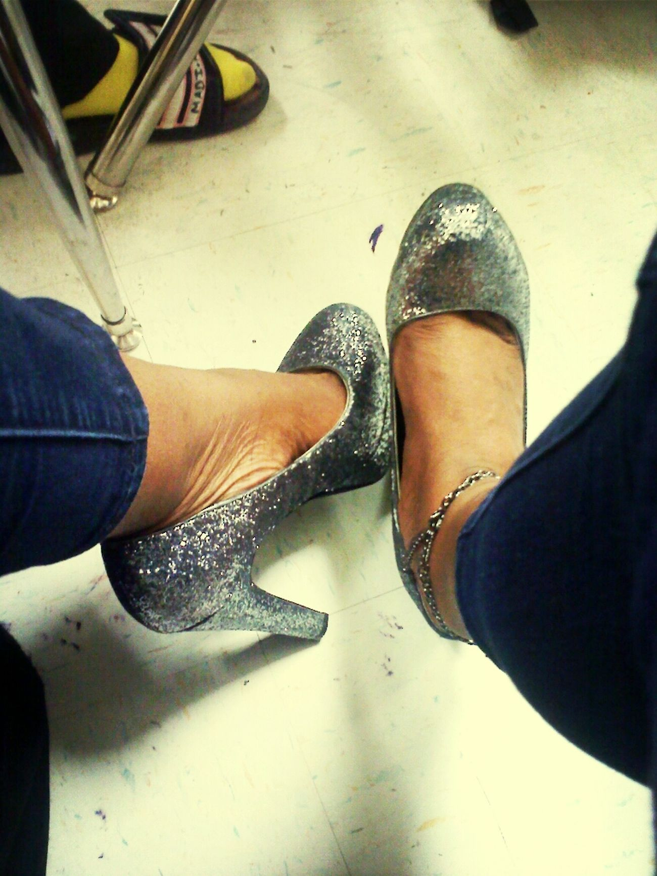 Heels Of Da Day #Guess #Sparkles #Ms #MagicCity lls