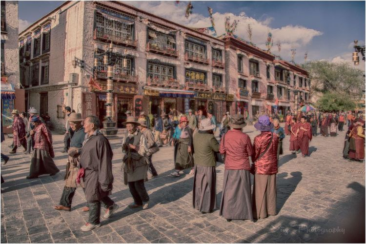 Nikontop Tibet Travel Large Group Of People Outdoors Architecture Crowd Passionforphotography Buddhist Pilgrimage Culture Lonelyplanet NikonAsia Cultures Religion Nikonphotography Place Of Worship Travel Destinations Travelphotography Traditional Clothing Vibrance Nikond90photographer Passion Nikonworld_ Nikond750 Tibet People