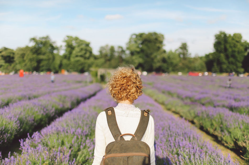 Beautiful stock photos of blumen, 30-34 Years, Agriculture, Bag, Banstead