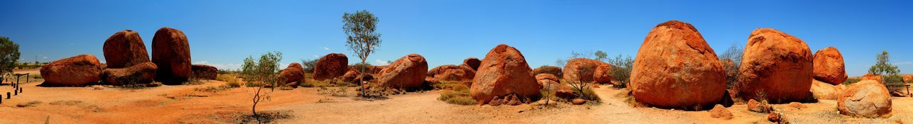 Australia Australian Landscape Beauty In Nature Clear Sky Desert Dew Drawing Extreme Terrain Geology Landscape Nature Orange Stones Panorama Panorama View Panoramic Panoramic Rock Formation Stones