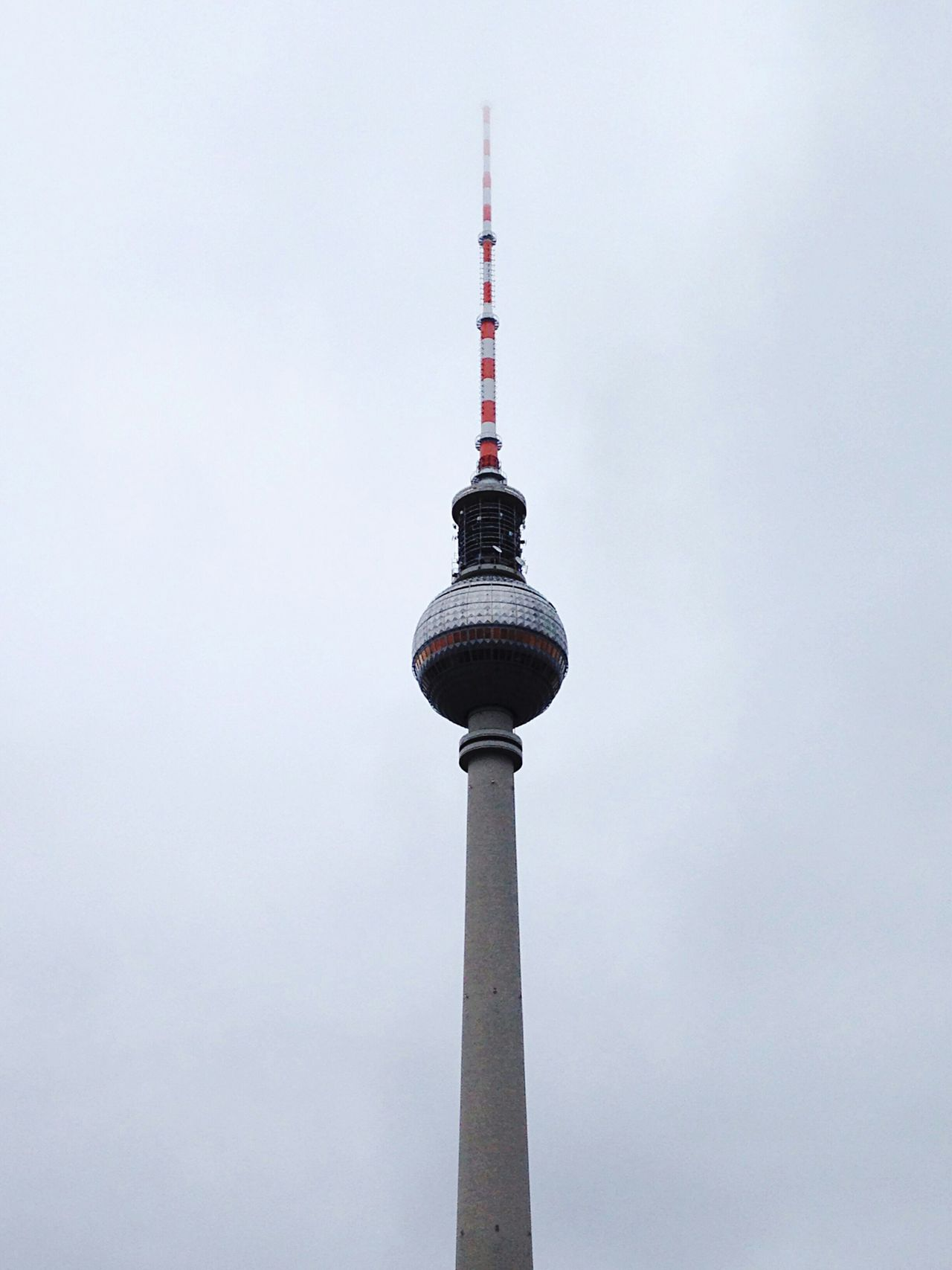 Classy Same Ol Same Ol Fernsehturm / Tv Tower Foggy Weather My Fucking Berlin Open Edit Architecture