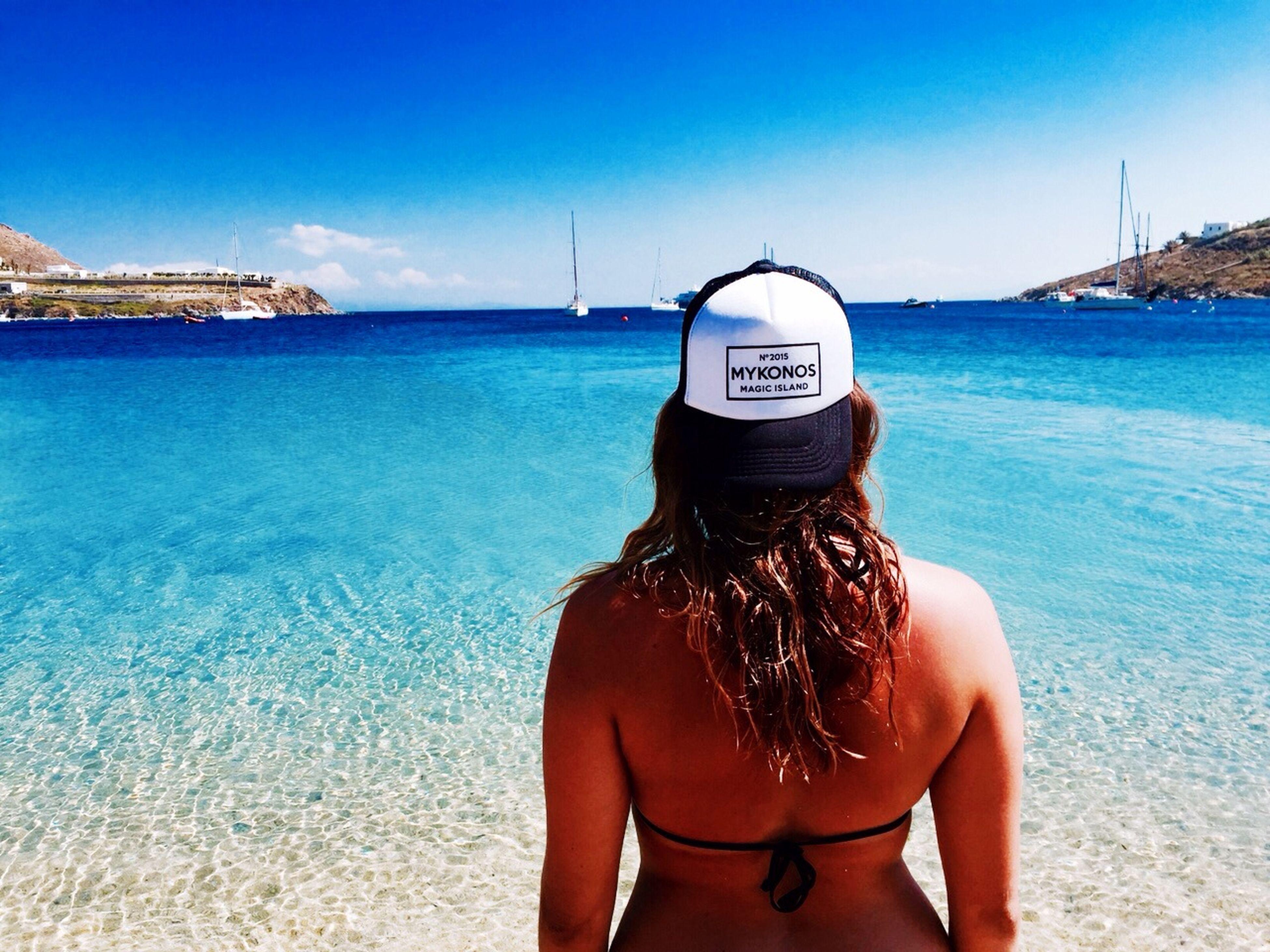 Mykonos,Greece Mykonos Gangsterparadies Beach Ornosbeach Paradies Myself Griechenland Sun