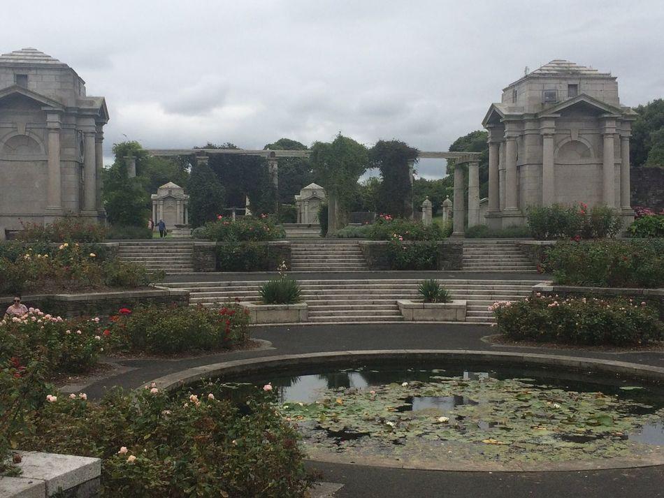 Rose Garden Lutyens War Memorial Summer ☀