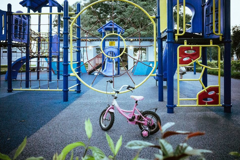 Celebrate Your Ride Streetphotography Street Streetphoto_color Bicycle Playground Cmmaung Cmmaung.me Singapore