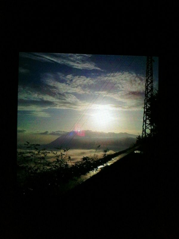 View Landscape Panorama Postcard Pictureoftheday Inspired Cold Winter ❄⛄ Cold Winter View Heaven Sky Sun Sunset Clouds Love 🌈⚘ Clouds Jenuary 2017❄🎅 Flying High
