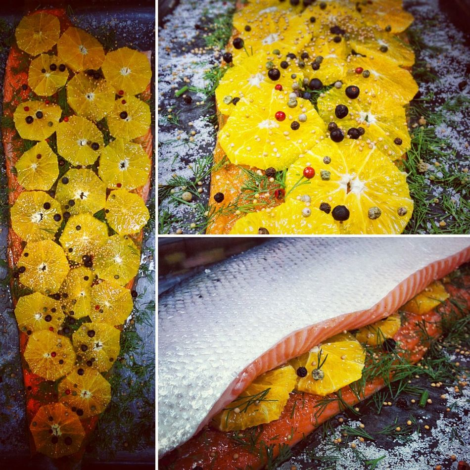 Scandimania. Gravlax Salmon Dish Scandinavian Food Sea Food Photography Orange - Fruit Foodphotography