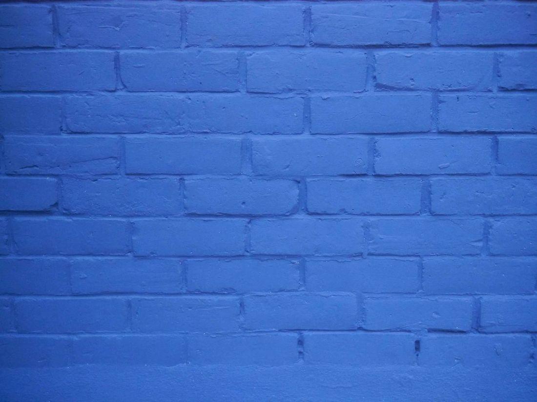 Architecture Blue Bricks Wall Brick Wall Close-up Day Full Frame Green Bricks Wall Grey Bricks No People Outdoors