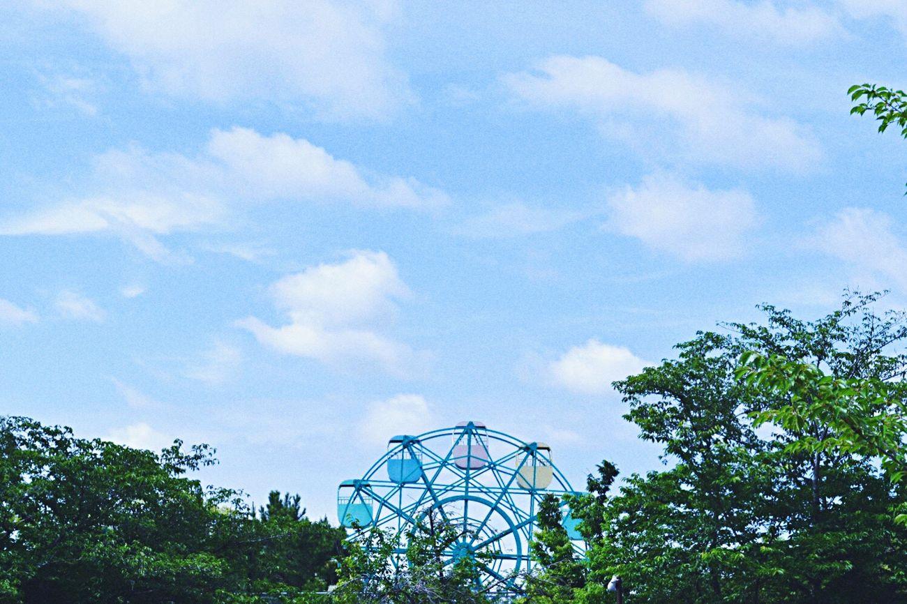 この小さい観覧車。私は好きだな。 遊園地 動物園 Japan 観覧車 Small 夏 Summer