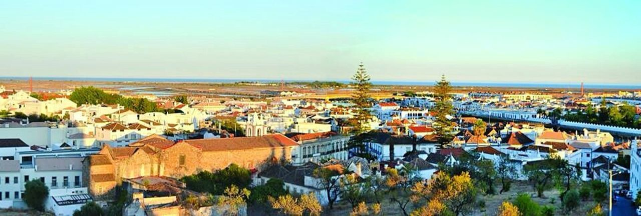 Panorama at Tavira Architecture Built Structure City Sky Residential Building Outdoors Cityscape House Roof Tree No People Day Mediterranean  Tavira Tavira Algarve Tavira, Portugal Algarve, Portugal Algarve Portugal Travel Destinations Travel Holiday