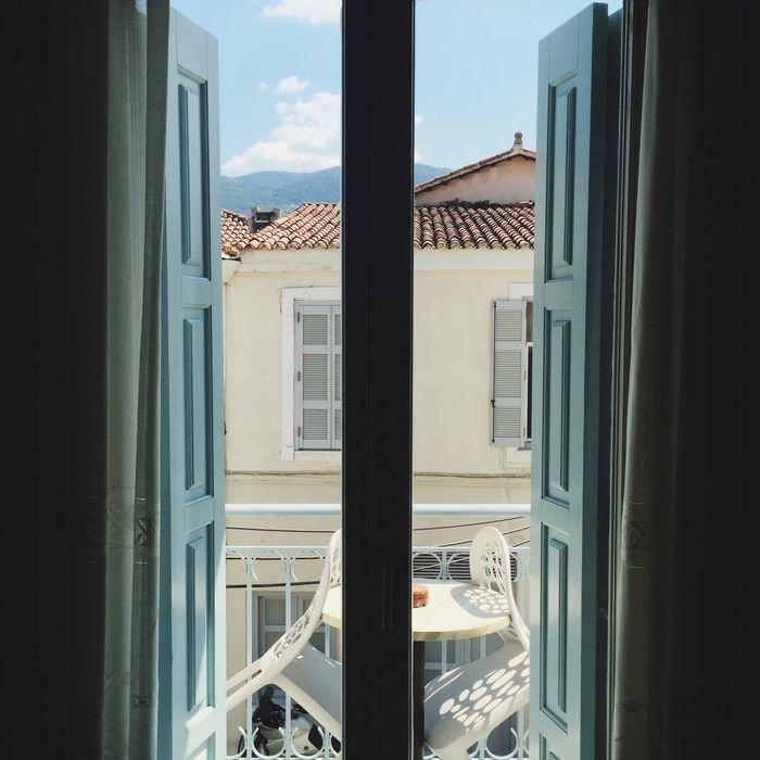 Poros Hotel Hotel Room Window Windows Vscocam VisitGreece Travel Photography
