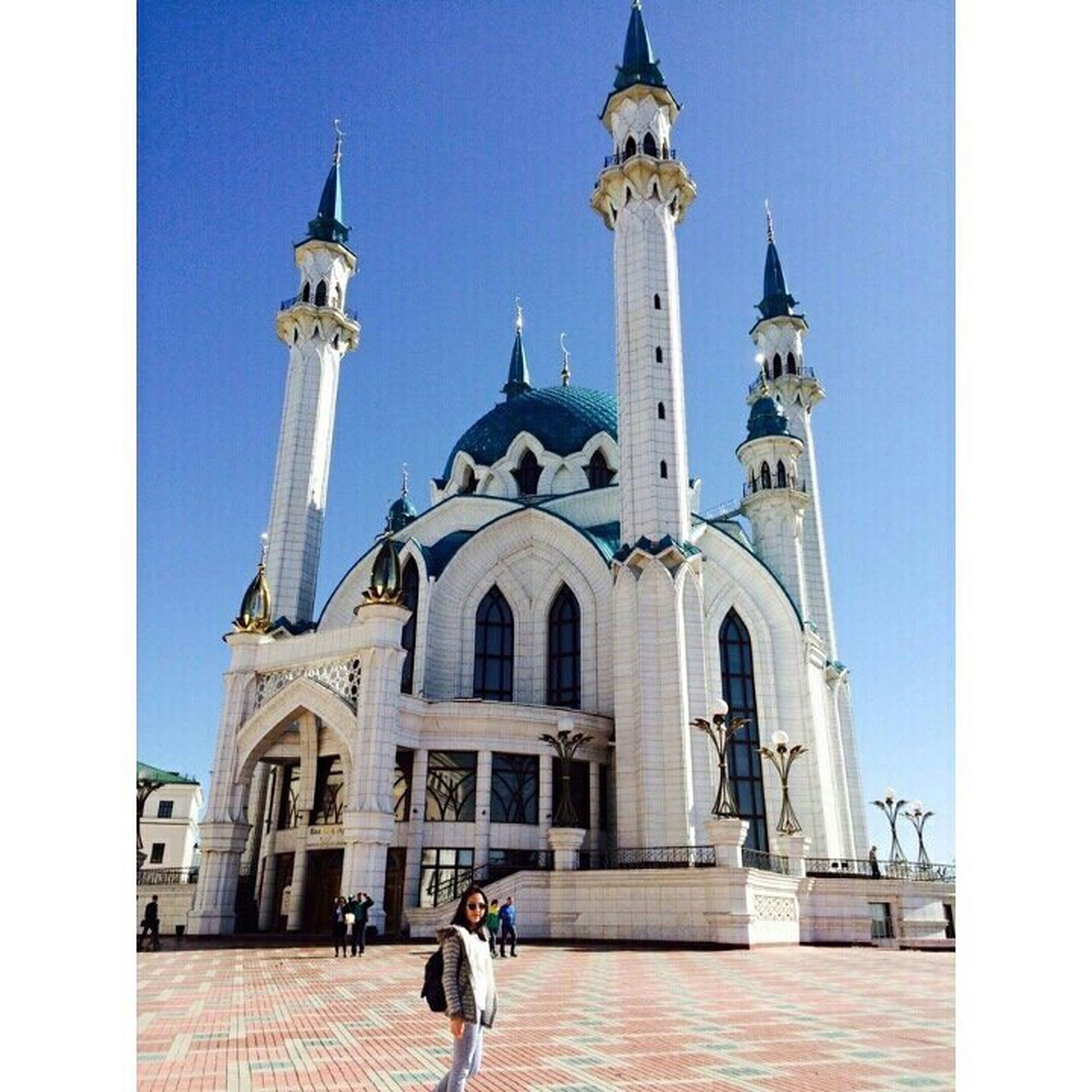 Мечеть Кул Шариф Казань 2015 Весна💐🌷🌿 хочу в казаньгород 🌙🕌