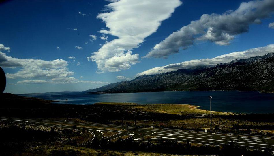 Nikon_photography Cloud - Sky Road Nikond3300 Sky TBT