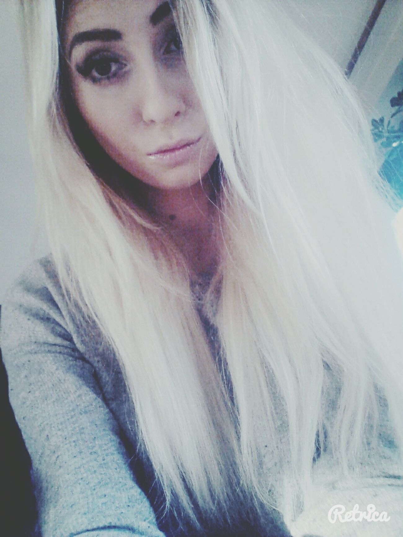 Hair Face Long Hair, Don't Care. So Tired Goodnight Polishgirl Beng Beng