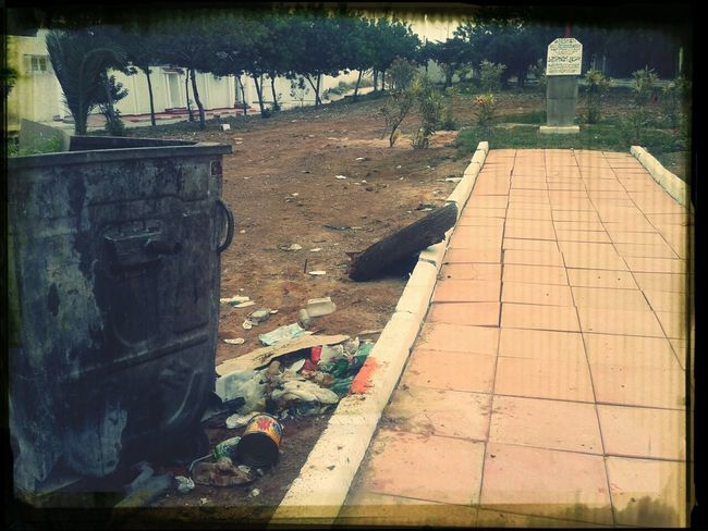 quand la municipalite Raoued Est Hors Sujet Place Brahmi Ariana  #ra7il #honte