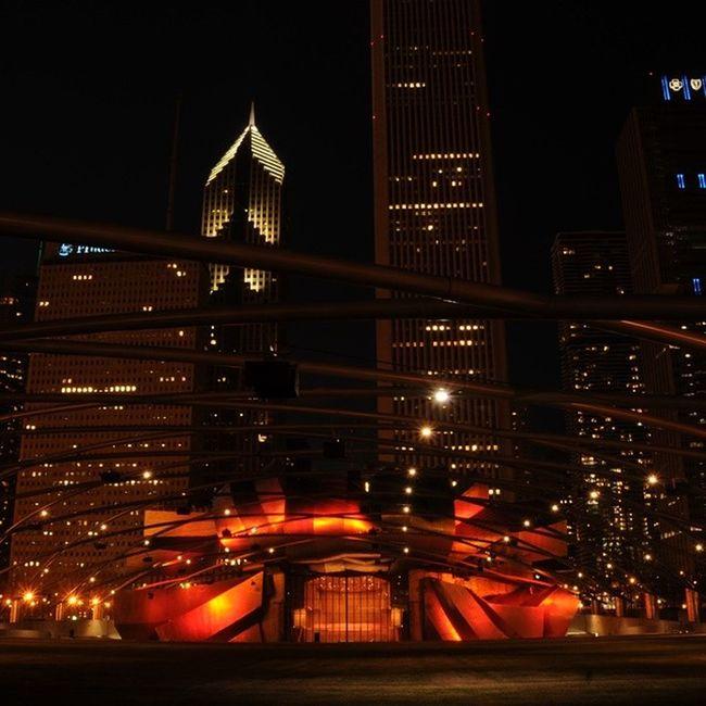 PritzkerPaviolion Millenniumpark Chicago