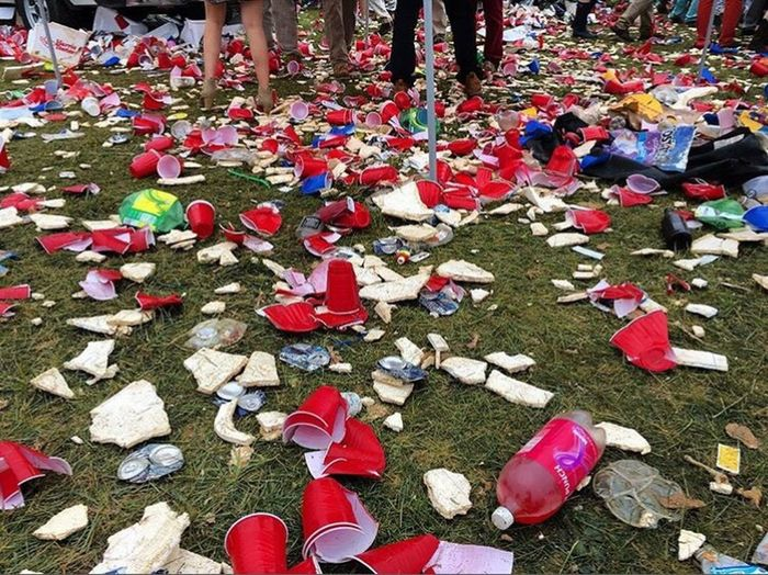 I hate humanity Whitepeople Disgust Trash Aftermath Solocup