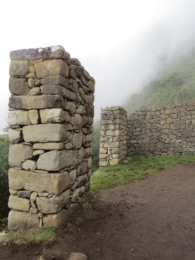 Ancient Civilization Ancient Ruins Beauty In Nature Fog Inca Inca Ruins Machu Picchu Machu Picchu - Peru MachuPicchuPerú Peru Sun Gate Machu Picchu Sungate Tranquil Scene Travel The World
