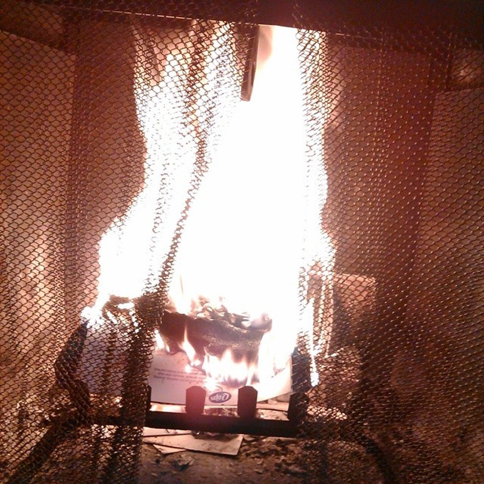 Come on baby light my fire Overcast Chilly Myfavoritekindofday Warmupbythefire