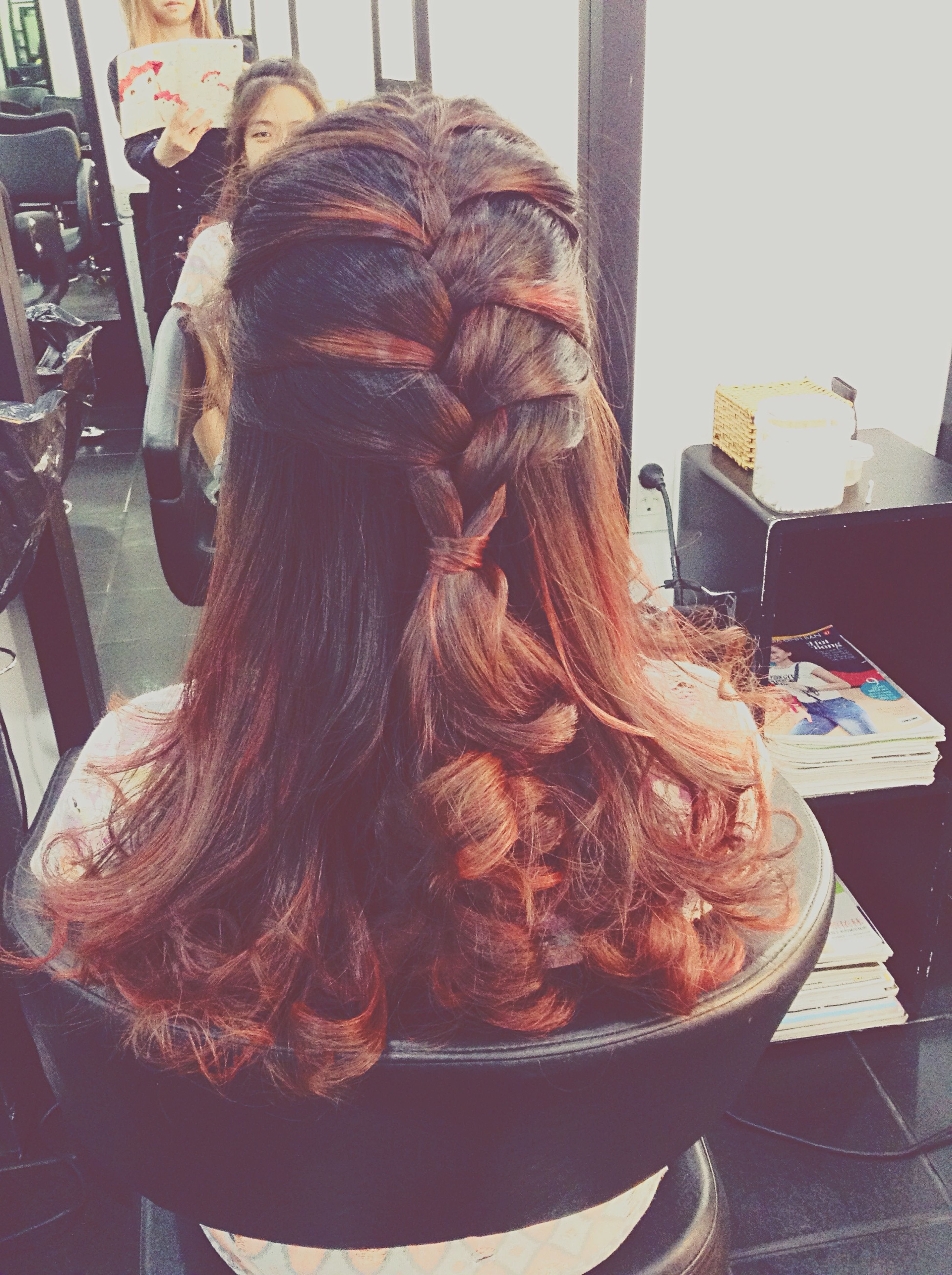 Sure My Life isnt Perfect but My Hair is... Have a Great Hair Day Braid for Summer Highlight EyeEm