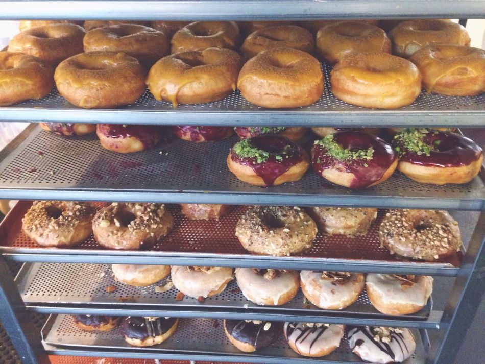Who's hungry? Food And Drink Food Freshness Foodie Indoors  Sweet Food Close-up Day Donuts Yum Baking Breakfast Hipster