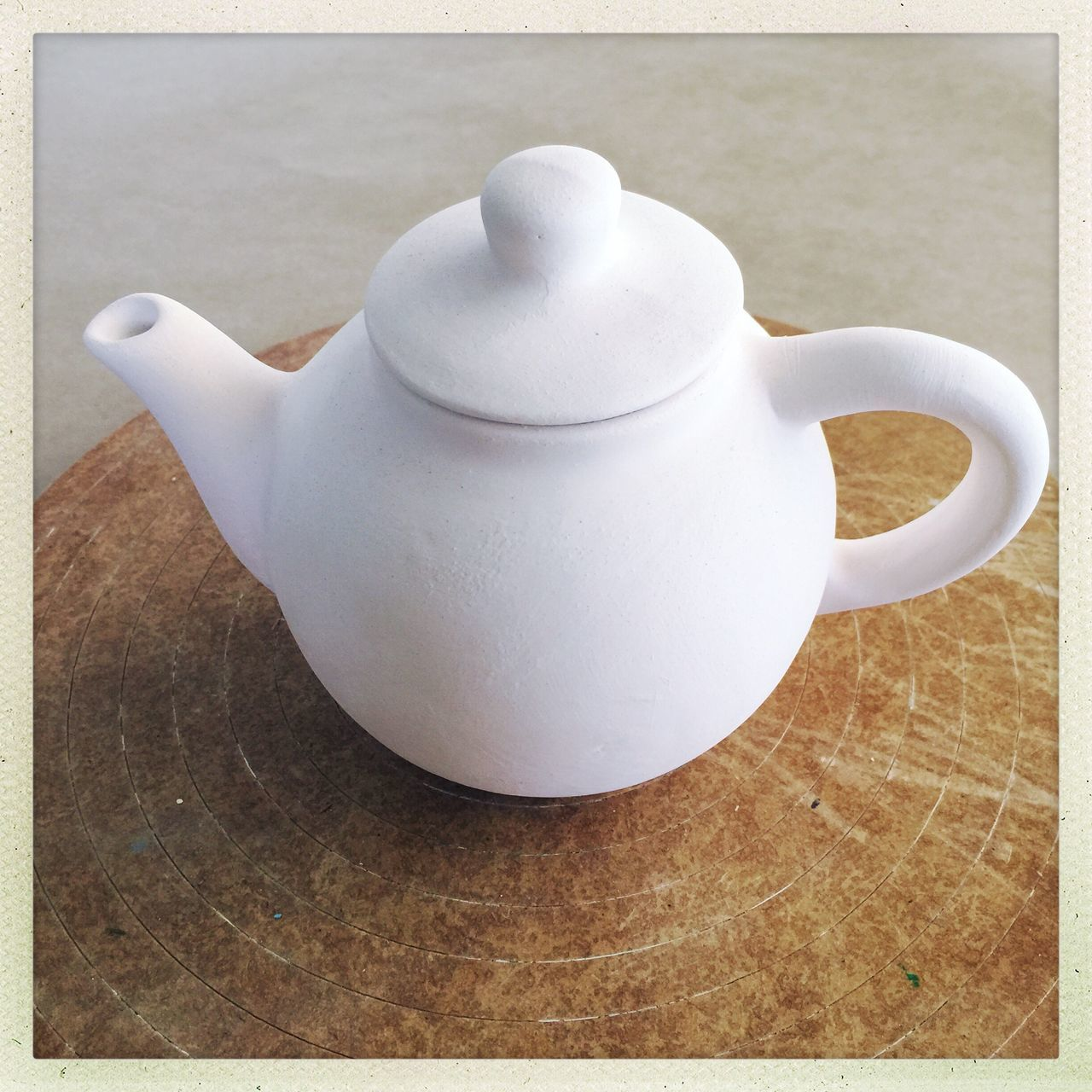 Teapot Tea Tea Time Clay Pot Clay Bare Art Craft Crockery Wood
