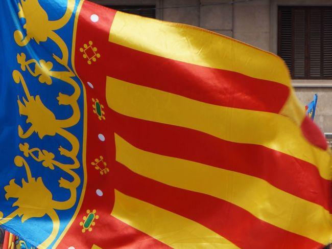 Bandera Comunidad Valenciana Comunitat Valenciana Espana-Spain España🇪🇸 Flag Real Señera Valenciana Regne De Valencia Reial Senyera Valenciana Reino De Valencia Senyera Valenciana Señera Valenciana Valencia, Spain