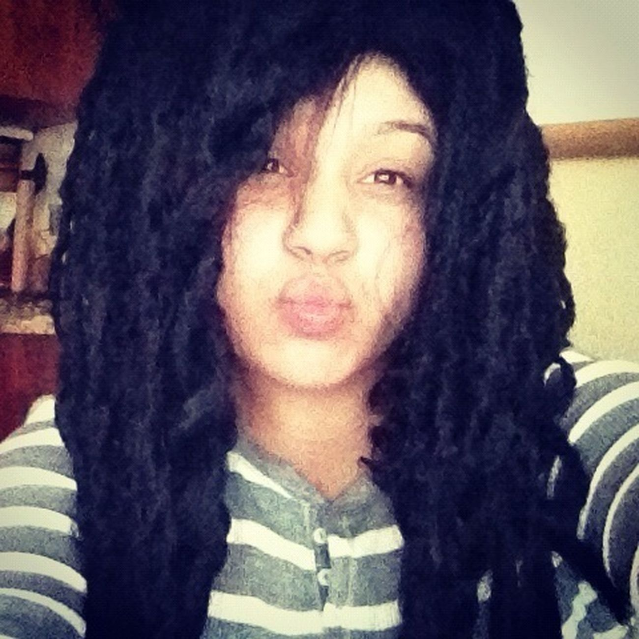 #Dread Head! Jk Jk But I Be Lookin Cute
