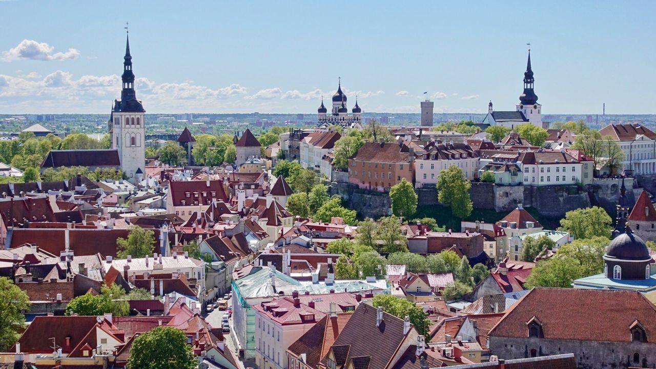 Estonia Tallinn Oldtown Oldtallinn タリン 旧市街 エストニア