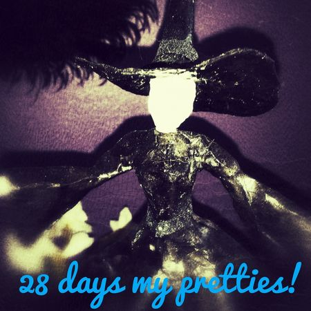My favorite holiday is coming.. Halloween Ilovehalloween Decorations Witch Darkdecors.com
