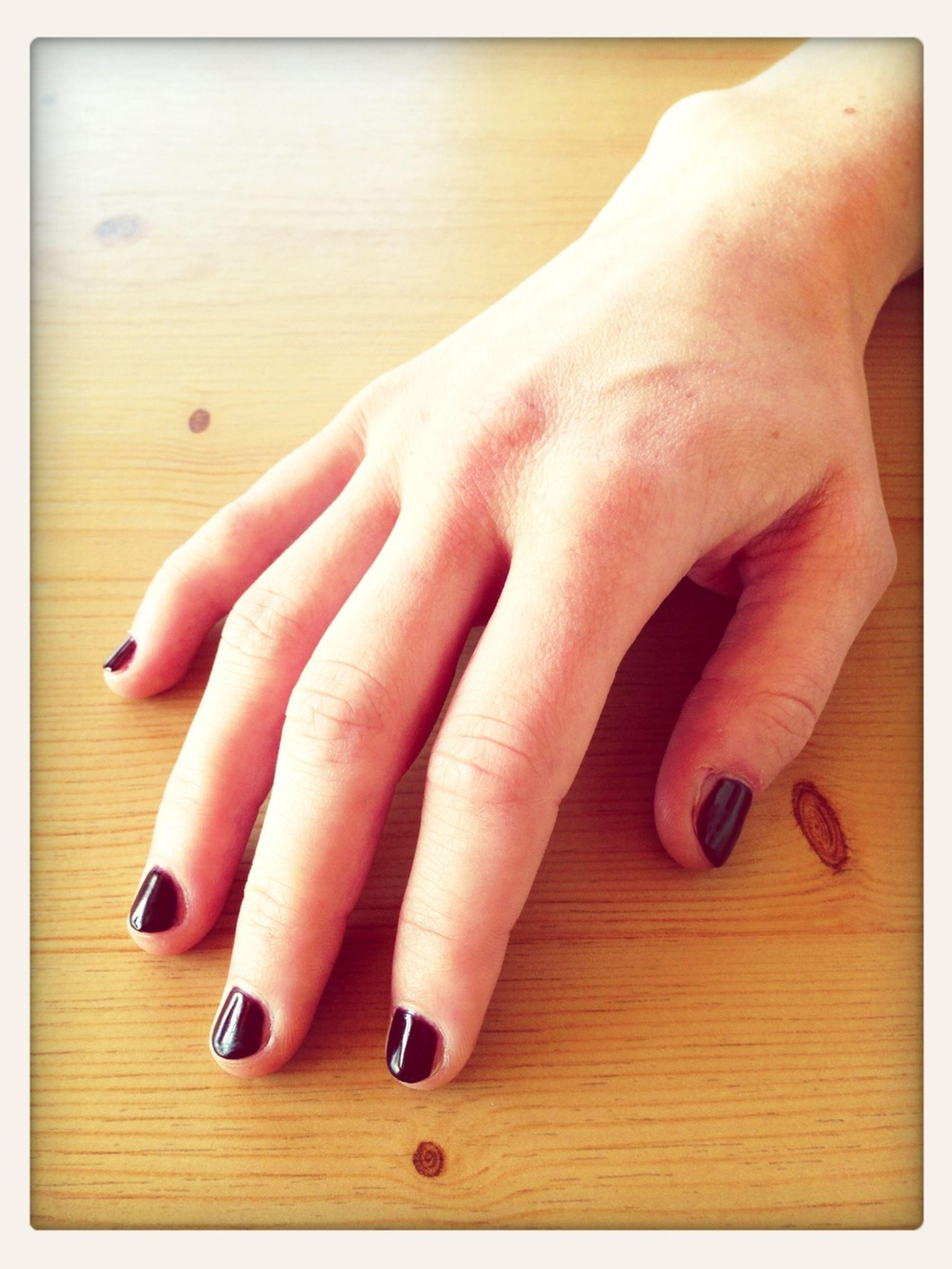 Nails Rouge Noir Uv Gel Nail