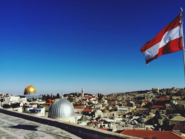 Enjoying The View on Jerusalem
