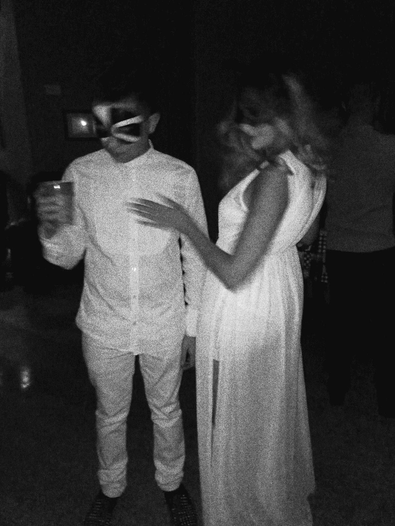 Great night? NYE White Whiteonwhite Masquerade