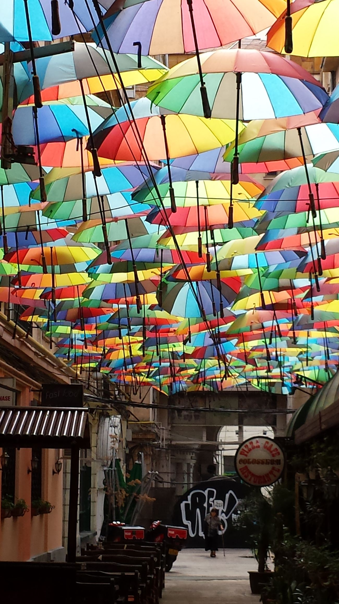 Architecture Citylife Day Multi Colored Outdoors Sky Umbrellastreet First Eyeem Photo