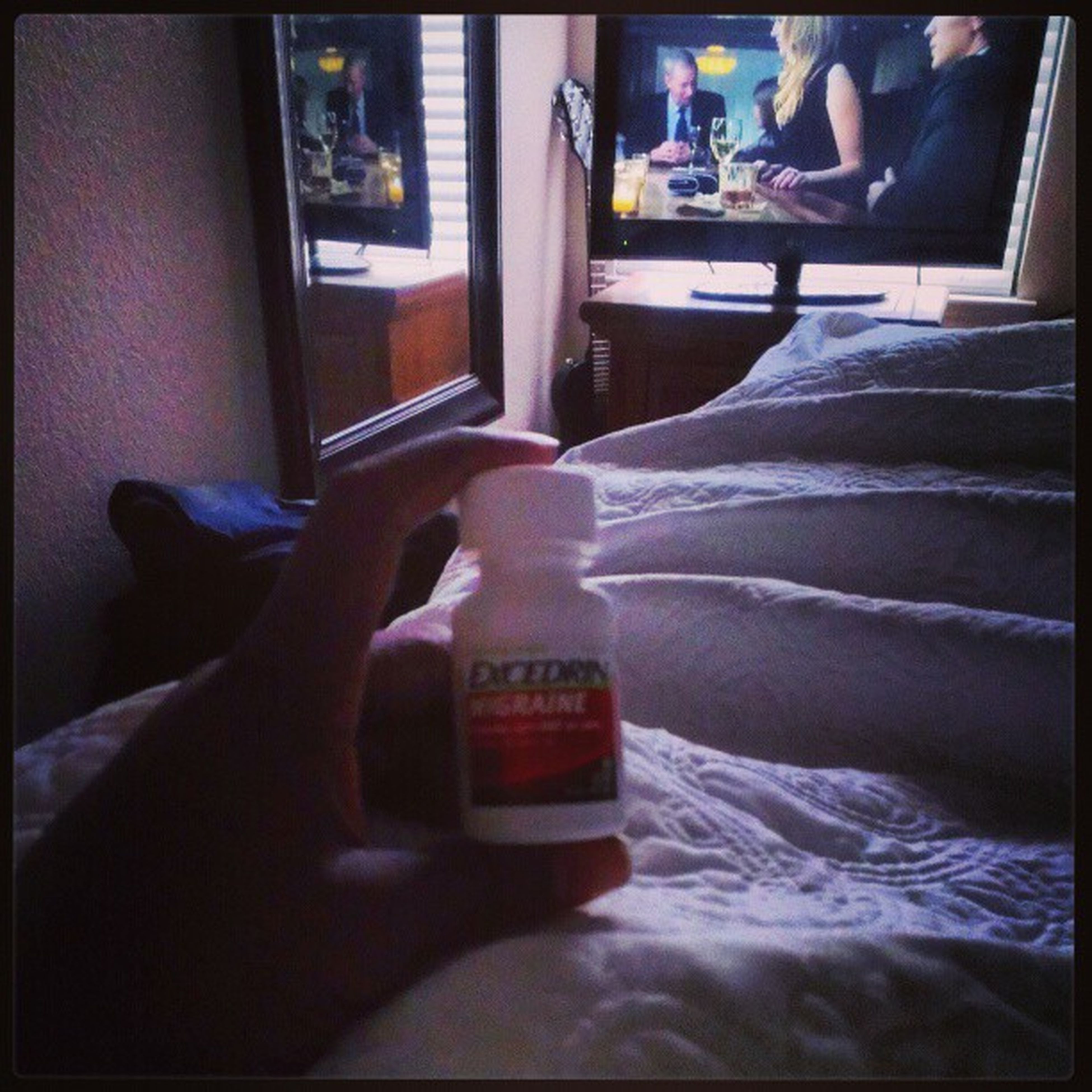 Excedrin and Houseofcards long night, and now a long day.....