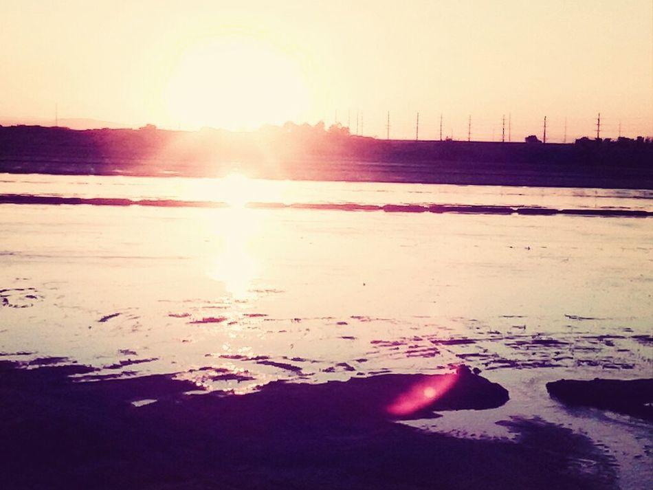 Morning runs-loving my view <3 Nature Sunrise Morning Run LOVE Running