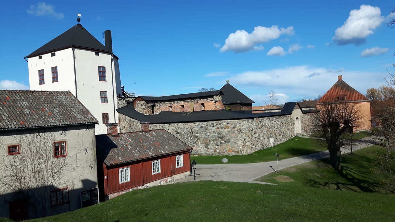 Architecture Building Exterior Built Structure No People Travel Destinations Swedish Castle Sweden Nyköpingshus Nyköping Swedish Architecture Architecture House