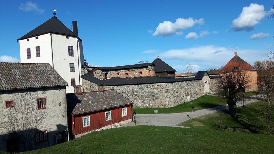Architecture Building Exterior Built Structure No People Travel Destinations Swedish Castle Sweden Nyköpingshus Nyköping Swedish Architecture Architecture House