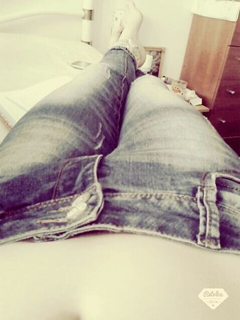 Relaxing Hello World Girl Jeans