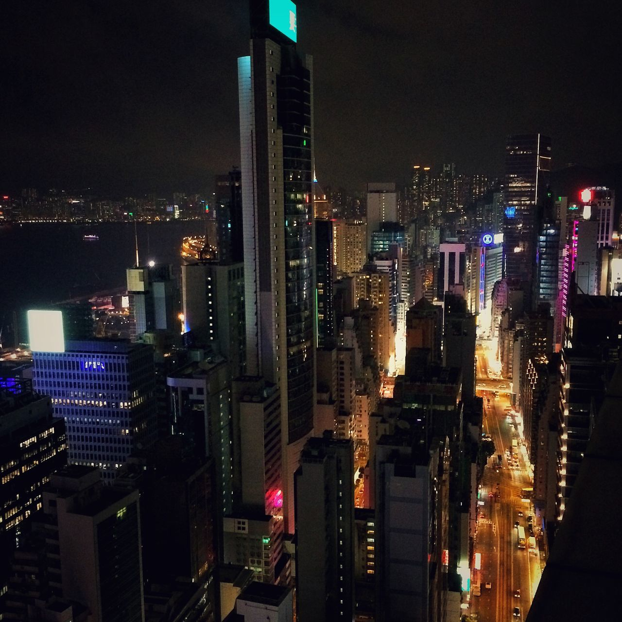 Rooftops HongKong Wanchai Night Nightphotography IPhoneography Rooftops Neon Lights Travel Photography Look Around