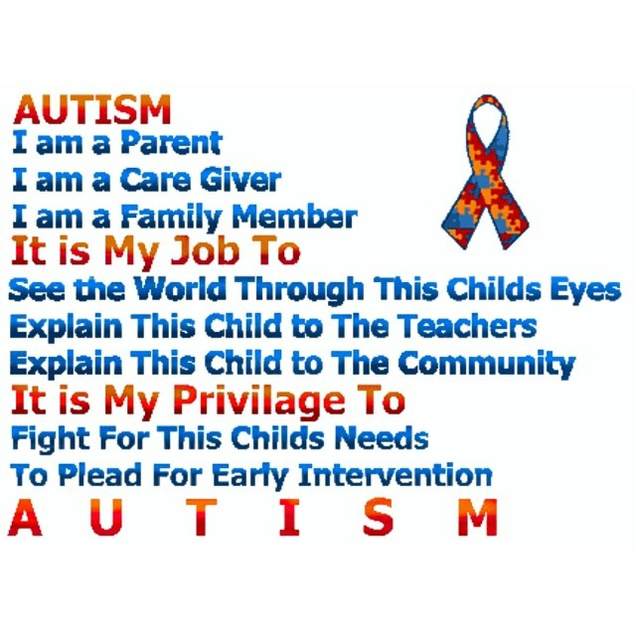 Had the privilege to work these kids. Yeah they may be a pain in the ass but in a weird way gotta love them and help them in every way I can yo make their lives a bit much more easier so they won't be looked at as weird but as normal people :) AustimAwarenessMonth BlueAllTheWay T MyFavoriteKid
