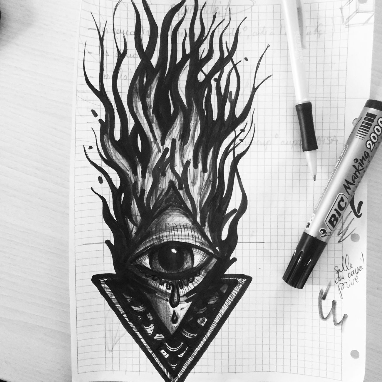 Amazing Tieumdeko Tieumdekotattoo Tattooartist  Blackwork RudeBoy Tattoo ❤ Tattooed Inked Gangsta Tattoos Tatto Design Tattoo Ink Drawing Draw Eye