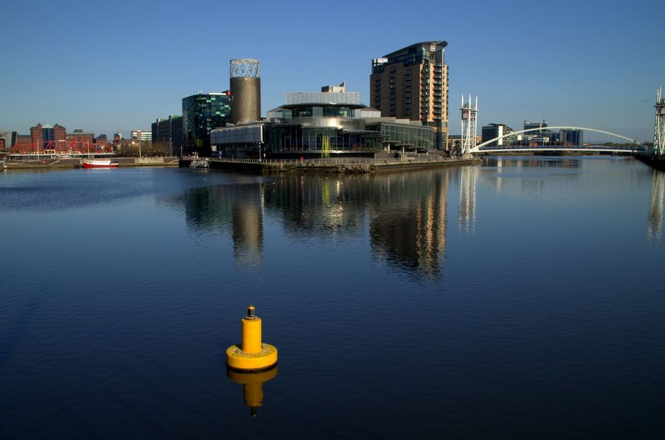 Architecture City Day Lowry Manchester No People Outdoors Quays Salford Water