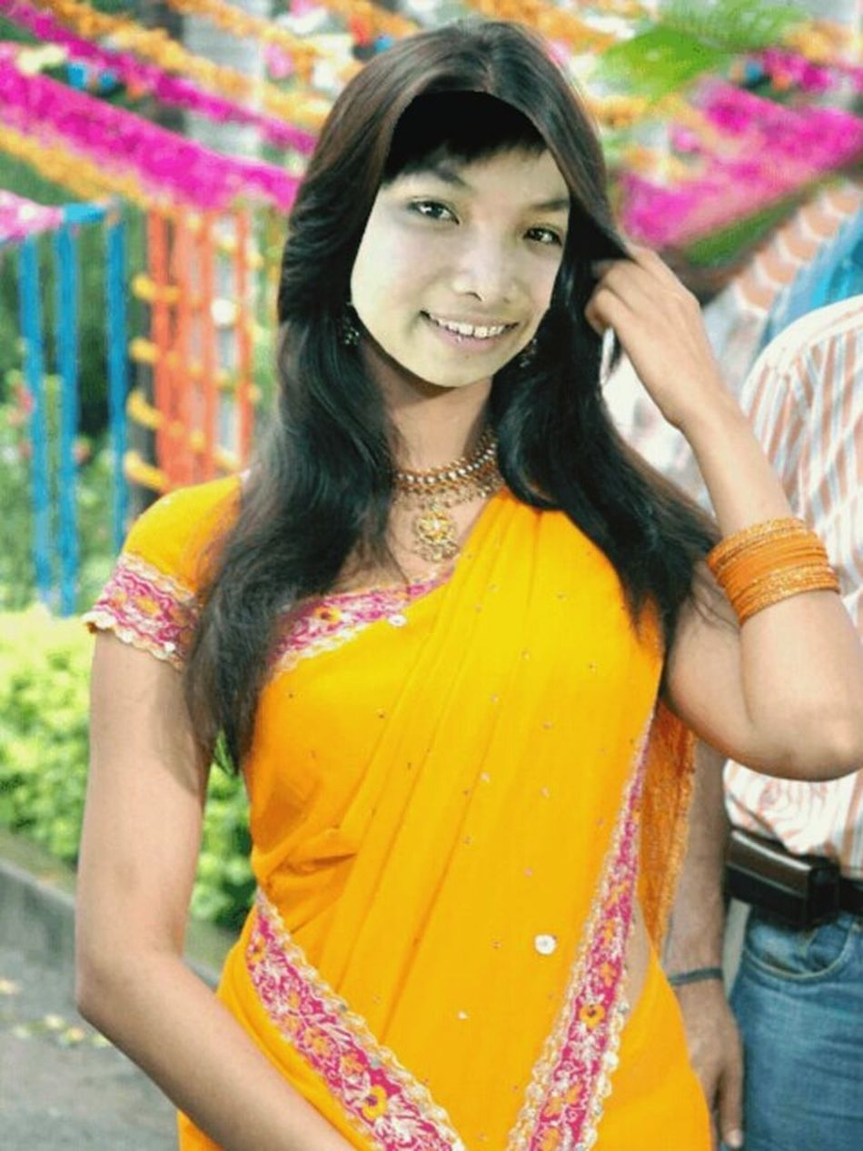Indian Saree Applicationphoto Vietnamesegirl Just For Fun! ^.^